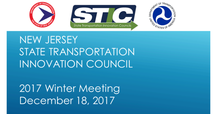 NJ STIC 2017 Winter Meeting