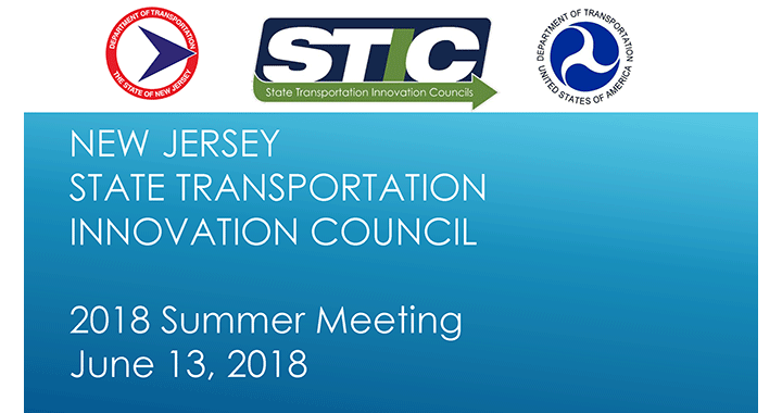 NJ STIC 2018 Summer Meeting