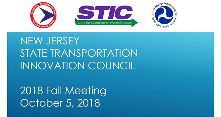 NJ STIC 2018 Fall Meeting