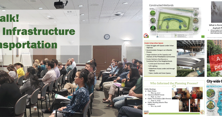 Tech Talk! Green Infrastructure in Transportation
