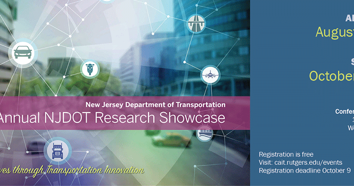 21st Annual NJDOT Research Showcase – Call for Presentations!