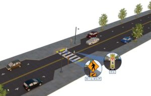 Crosswalk Visibility Enhancements