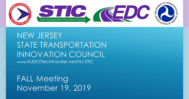 NJ STIC 2019 Fall Meeting