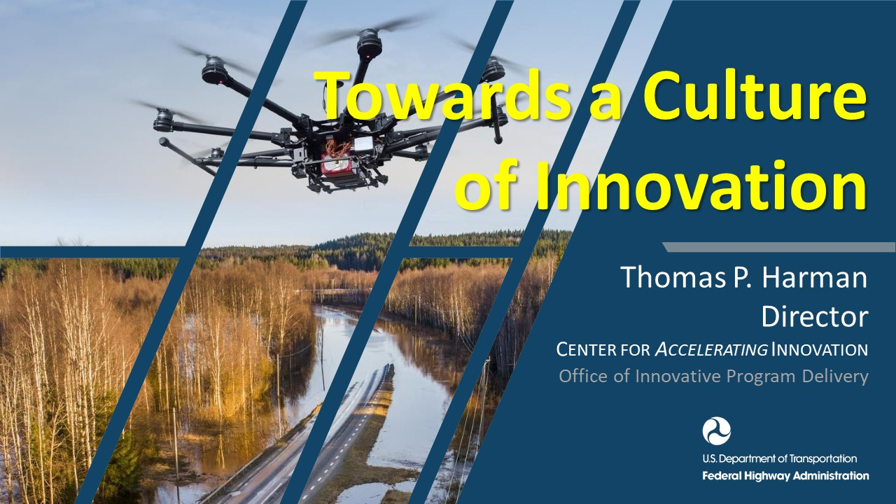 Guest Speaker Tom Harman: Towards a Culture of Innovation
