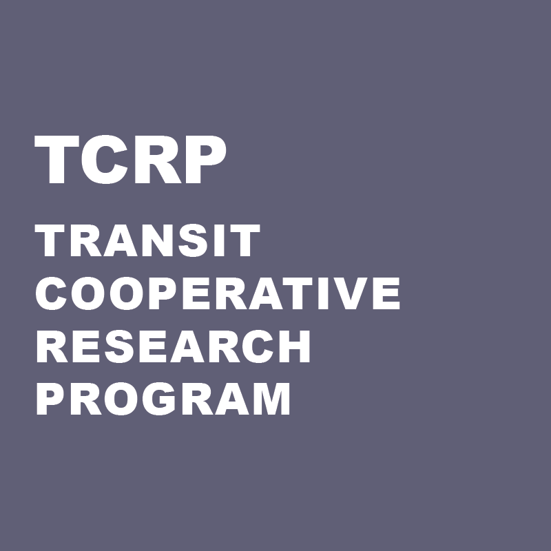 Transit Cooperative Research Program