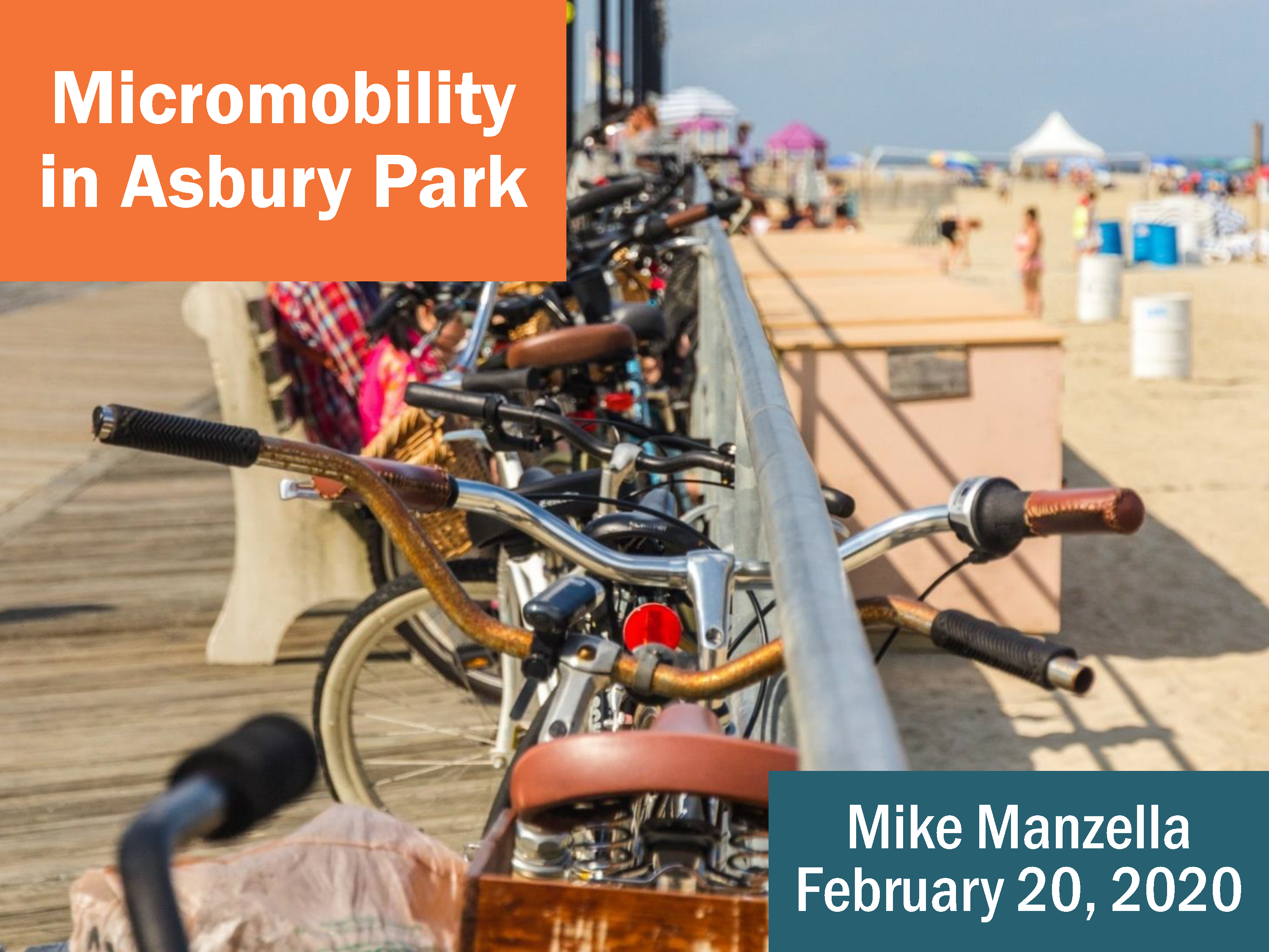Micromobility in Asbury Park