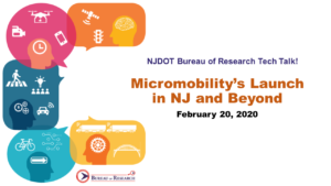 Micromobility Tech Talk was held on February 20, 2020.