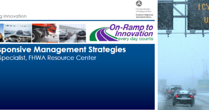 FHWA's Ray Murphy Presents EDC-5 Weather-Responsive Management Strategies