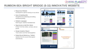 Monmouth County used a project website to inform the public and gather feedback (click for presentation)