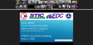 NJ STIC's first virtual meeting on May 6, 2020