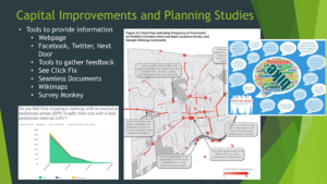 Princeton used various methods to track and display feedback from public involvement activities (click for presentation)