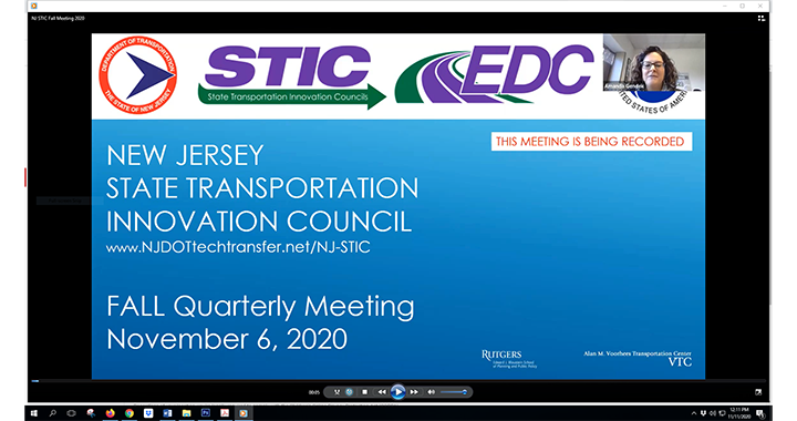 NJ STIC 2020 Fall Meeting