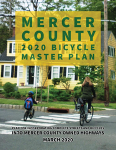The Mercer County Bicycle Master Plan promotes bike-friendly resurfacing in alignment with the County's Complete Streets policy.