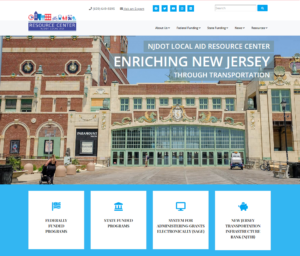 The NJDOT Local Aid Resource Center website provides links to information on the Design Assistance Program