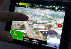 For the I-495 project, live stream videos from drones were shared with traffic operations and command posts to assess traffic congestion during construction.