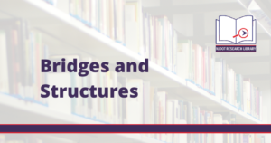 Image reads: Bridges and Structures