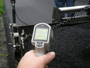 Warm Mix Asphalt is promoted by FHWA as a greener paving alternative. Source: FHWA